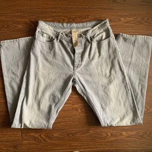 Burberry Brit Grey Denim Jeans